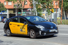 Taxi Barcelona Royalty-vrije Stock Foto