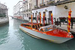 Taxi boat Royalty Free Stock Photos