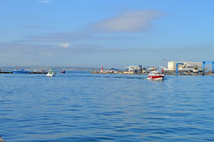 Taxi Boats - Fishing Harbour Port Stock Photography
