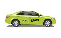 Taxi Boro de Nueva York Imágenes de archivo libres de regalías