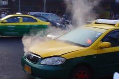 Taxi. Broken car Royalty Free Stock Images