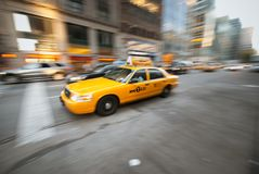 Taxi Cab Royalty Free Stock Image