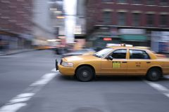 Taxi Cab Stock Image