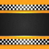 Taxi cab blank template Stock Image