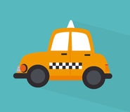 Taxi cab design Stock Photo