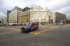 Taxi cab in London Royalty Free Stock Photography