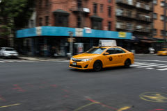 Taxi cab in New York Stock Image