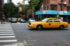 Taxi cab in New York Stock Photography