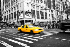Taxi cab from NYC Stock Photography