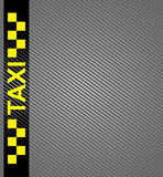 Taxi cab symbol Royalty Free Stock Photo