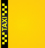 Taxi cab symbol Royalty Free Stock Images