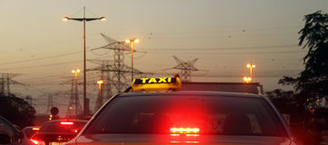 Taxi Cab Stock Photos