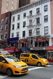 Taxi Cabs in New York stock images