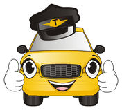 Taxi in cappello Fotografia Stock