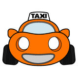 Taxi car Royalty Free Stock Images