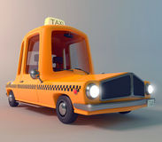 Taxi car. Is designed for transportation of passengers Royalty Free Stock Photo