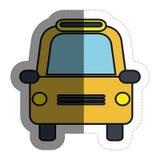 taxi car icon Royalty Free Stock Photos