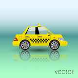 Taxi car  icon Royalty Free Stock Images