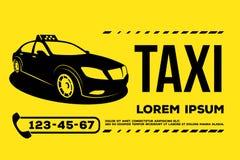 Taxi car service poster. Taxi car service. poster, header, banner.Vector Illustration Stock Images