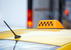 Taxi car Royalty Free Stock Photography