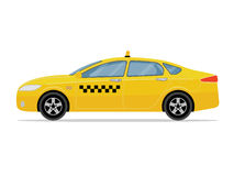 Taxi car on white background. Stock Image