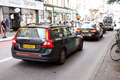 Taxi cars Royalty Free Stock Images