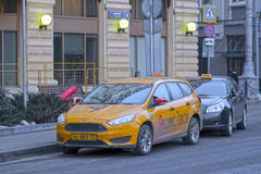 Taxi cars Royalty Free Stock Image