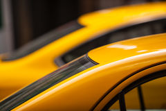 Taxi Cars Roof Detail Royalty Free Stock Image
