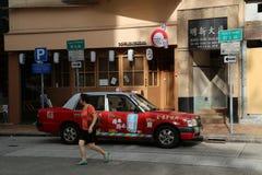 Taxi chino fotografía de archivo libre de regalías