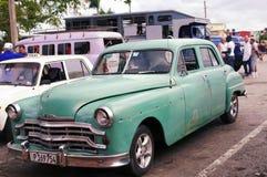 Taxi colectivo en Cuba Imagenes de archivo