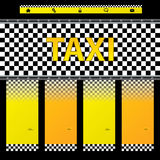 Taxi company website template Royalty Free Stock Images