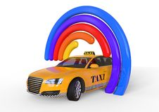Taxi Concept Royalty Free Stock Images
