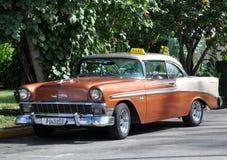 Taxi in Cuba Fotografia Stock Libera da Diritti