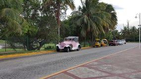 Taxi in Cuba Immagine Stock Libera da Diritti
