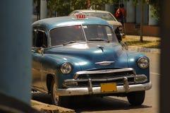 Taxi in Cuba. Taxi in the city of Cienfuegos, Cuba royalty free stock photos