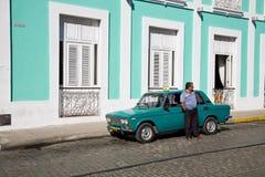 Taxi, Cuba Stock Images