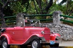 Taxi cubain Image libre de droits