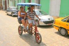 Taxi cubain Photos libres de droits
