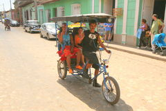 Taxi cubain Images stock