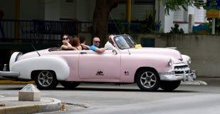 Taxi cubano Fotografía de archivo libre de regalías