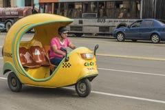 Taxi cubano Avana dei Cochi Immagine Stock Libera da Diritti