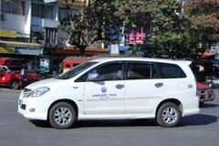 Taxi d'aéroport de Chiangmai Photographie stock libre de droits