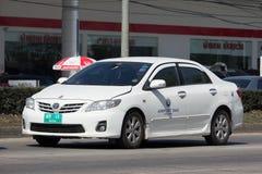 Taxi d'aéroport de Chiangmai, service pour le passager de l'aéroport Images libres de droits
