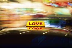 Taxi d'amour Photographie stock libre de droits