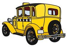 Taxi d'annata Fotografia Stock