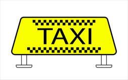 Taxi dachu nakrętka ilustracji