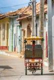 Taxi de bici du Trinidad Image libre de droits