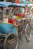 TAXI DE BICYCLETTE DE L'ASIE THAÏLANDE BANGKOK NOTHABURI TRANSORT Images stock