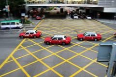 Taxi de Hong Kong Photos libres de droits