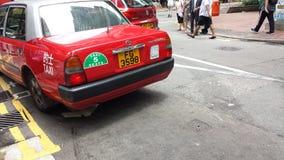 Taxi de Hong-Kong Imagenes de archivo